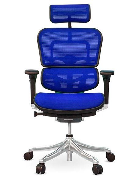 Крісло комп'ютерне ERGOHUMAN PLUS, ергономічне, чорного кольору