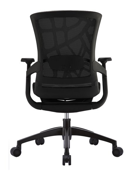 Крісло COMFORT SEATING SKATE (SKTA-W-LAM) для оператора, чорний колір