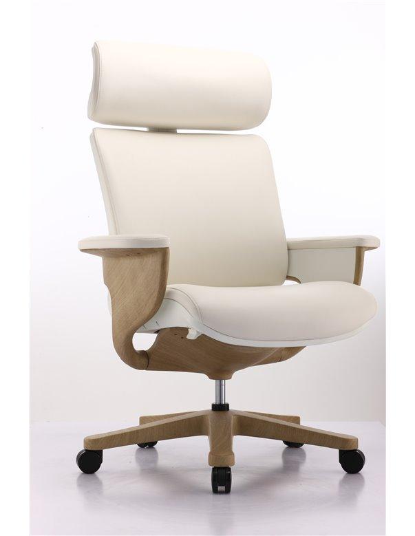 Крісло-реклайнер NUVEM SHOW WHITE для офісу та дому