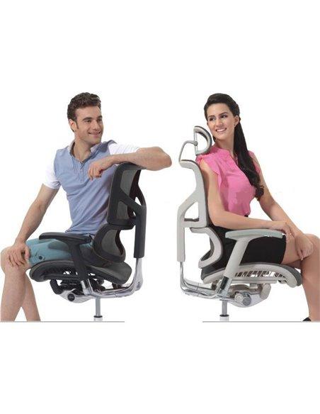 Кресло Expert Sail (SL-01) для руководителя, эргономичное, цвет черный
