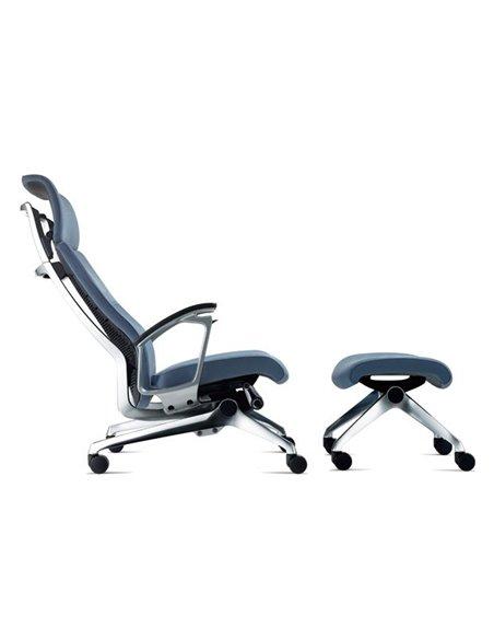 Крісло Okamura Luxos для VIP зон тканина-велюр