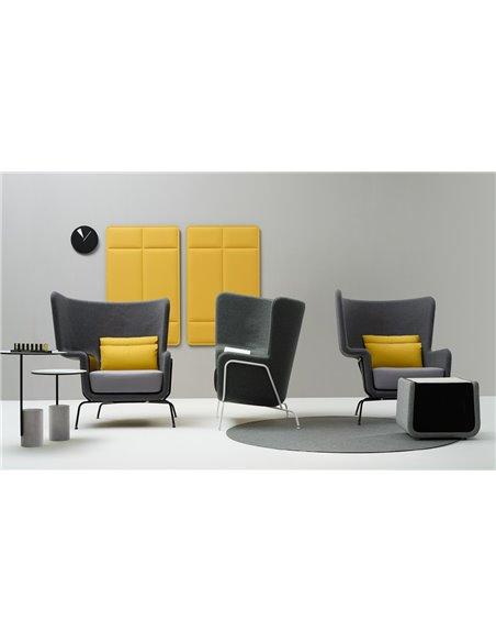 Звукопоглинаюче крісло QUINTI SEDUTE HIP LOUNGE