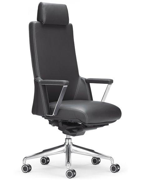 Крісло ROVO XZ 7030A для керівника, шкіряне