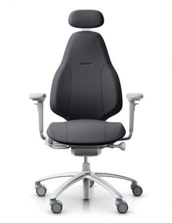 Крісло FLOKK RH MEREO 220 SILVER GREY, ергономічне